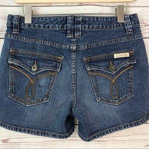 Vtg Calvin Klein Denim Jean shorts